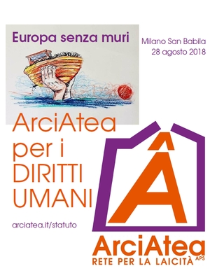 Milano san babila ArciAtea per i diritti umani