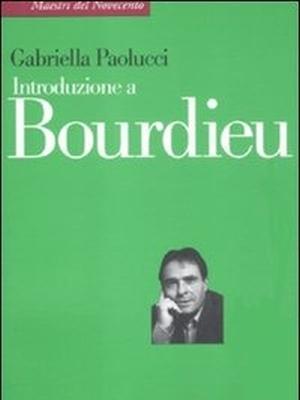 pieere bourdieu laterza gabriella paolucci