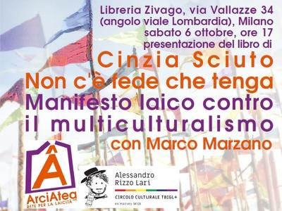 6 ottobre libreria Zivago con Marco Marzano