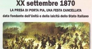XX Settembre. Una data simbolo. Storica. Dimenticata.