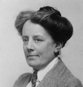 compositrice, scrittrice, attivista e membro del movimento delle Suffragette britannica.